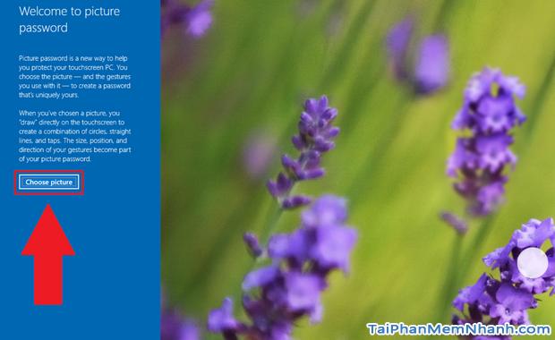 Hướng dẫn sử dụng hình ảnh để làm mật khẩu cho Windows 10 + Hình 9
