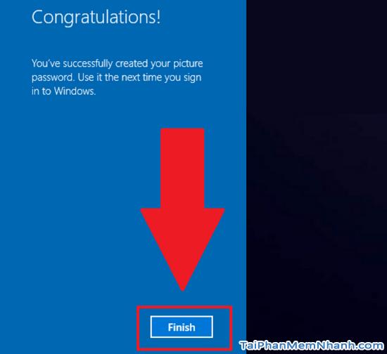 Hướng dẫn sử dụng hình ảnh để làm mật khẩu cho Windows 10 + Hình 12