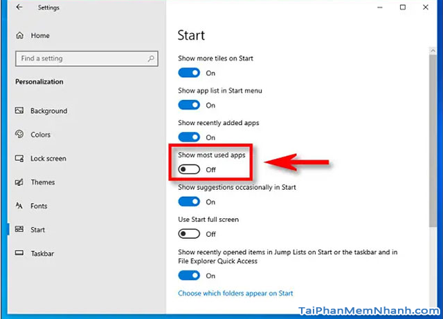 Thủ thuật Windows 10: Hướng dẫn ẩn danh sách ứng dụng trong Menu Start + Hình 7