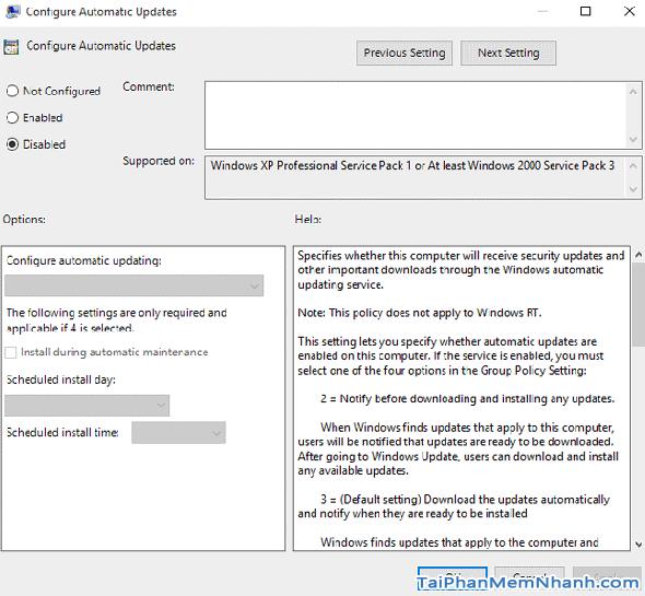 Cách tắt tự động mở cửa sổ giới thiệu sau khi Update Windows 10 + Hình 6