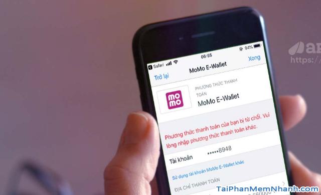Khắc phục lỗi phương thức thanh toán bị từ chối trên App Store + Hình 2