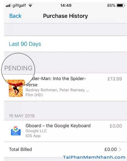 Khắc phục lỗi phương thức thanh toán bị từ chối trên App Store + Hình 4