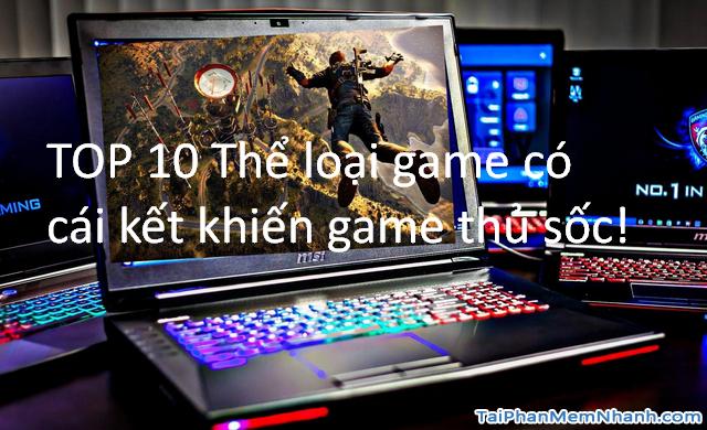 TOP 10 Thể loại game có cái kết khiến game thủ sốc!